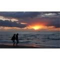 Sonnenuntergang 3 (Warnemünde)