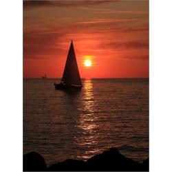 Sonnenuntergang 7 (Warnemünde)