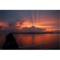 Sonnenuntergang 11 (Insel-Föhr)