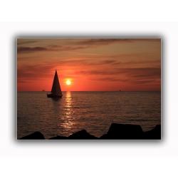 Sonnenuntergang 13 (Warnemünde)
