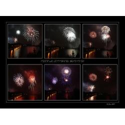 Feuerwerk Collage 2009 (Crange)
