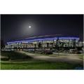 Veltins-Arena bei Nacht