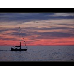 Sonnenuntergang 4 (Warnemünde)