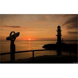 Sonnenuntergang 5 (Warnemünde)
