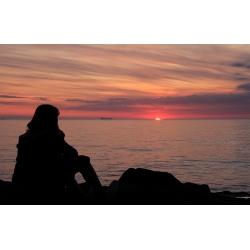 Sonnenuntergang 6 (Warnemünde)