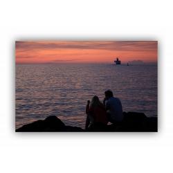 Sonnenuntergang 9 (Warnemünde)