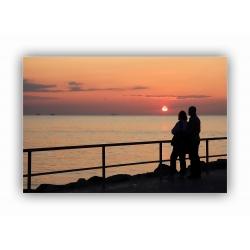 Sonnenuntergang 10 (Warnemünde)