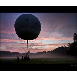 Ballon am Morgen (Wittringen)
